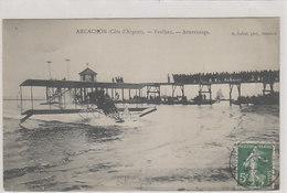 Arcachon - Aterrissage De Paulhan - 1912        (A-221-200115) - Airmen, Fliers