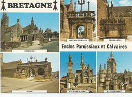 CPM  Bretagne Enclos Paroissiaux Et Calvaires - Monuments