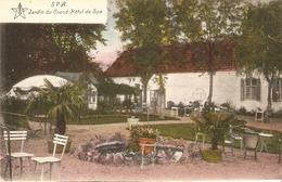 Spa : Jardin Du Grand Hôtel De Spa - Spa