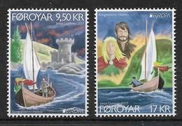 Föroyar / Färöer  2017 ,  EUROPA  CEPT  Schlösser Und Burgen - Postfrisch / MNH / (**) - 2017