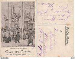 Austria,Poland, Russia, Ukraine-Judaica, Jews, Jewish- Types-military WWI, WK1 - Jewish
