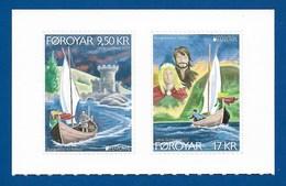 Föroyar / Färöer  2017 ,  EUROPA  CEPT  Schlösser Und Burgen - Selbstklebend / Self-adhesive - Postfrisch / MNH / (**) - 2017