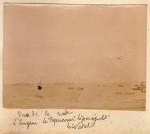 1902 Photo Bateau Madagascar Rade De Majunga - Boats