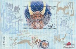Macau Block226 (kompl.Ausg.) Postfrisch 2014 Tierschutz - 1999-... Chinese Admnistrative Region