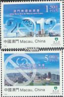 Macau 1777-1778 (kompl.Ausg.) Postfrisch 2012 Rauchfreies Macau - 1999-... Chinese Admnistrative Region