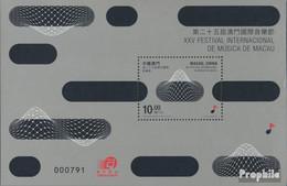 Macau Block198 (kompl.Ausg.) Postfrisch 2011 Musikfestival - 1999-... Chinese Admnistrative Region