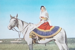 Cartolina Amazzone Sarda In Costume Di Osilo - 1966 - Other