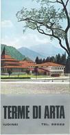 Tourism Brochure: Terme Di Arta - Udine - Italy / Italia - Tourism Brochures