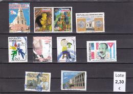 República Dominicana  - Lote  10  Sellos Diferentes  - 5/2238 - Dominican Republic