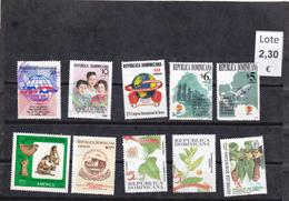 República Dominicana  - Lote  10  Sellos Diferentes  - 5/2239 - Dominican Republic