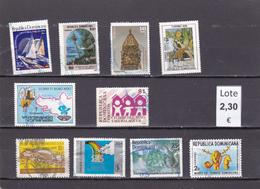 República Dominicana  - Lote  10  Sellos Diferentes  - 5/2241 - Dominican Republic
