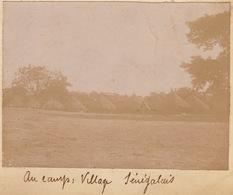 1902 Photo Majunga Madagascar Vilage Senegalais - Boten