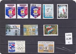 República Dominicana  - Lote  10  Sellos Diferentes  - 5/2243 - Dominican Republic
