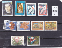 República Dominicana  - Lote  10  Sellos Diferentes  - 5/2244 - Dominican Republic