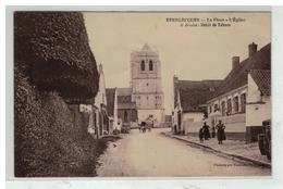 62 EPERLECQUES #11139 PLACE EGLISE DEBIT DE TABACS EDIT BAURAIN - France