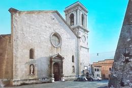 Cartolina Norcia - Cattedrale - Facciata - Campanile - 1977 - Perugia