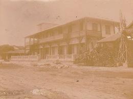 1902 Photo Majunga Madagascar Le Grand Hotel - Boats