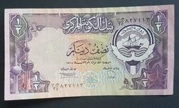 RS - Kuwait 1/2 Dinar Banknote #GB/35 827113 - Koeweit