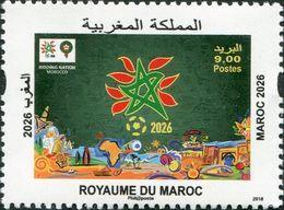 MOROCCO MAROC MAROKO MAROC 2026 ANNÉE 2018 - Morocco (1956-...)