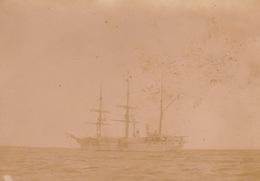 1902 Photo Majunga Madagascar Bateau Dans La Rade - Places