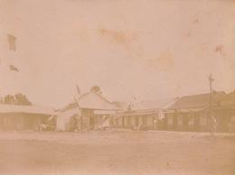 1902 Photo Majunga Madagascar Facade Magasin Garnier Rue Du Commerce - Places