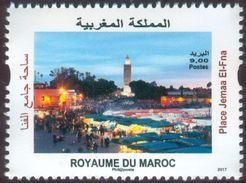 MOROCCO MAROC MAROKKO PLACE JEMAA EL-FNA MARRAKECH 2017 - Morocco (1956-...)