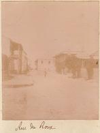 1902 Photo Majunga Madagascar Rue Du Rond - Places
