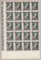 Belgique 571 ** En Bloc De 20 Coin De Feuille - Belgium