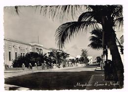 XW 2114 Somalia - Mogadiscio - Banco Di Napoli / Viaggiata - Somalia