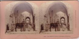 STEREO PHOTO  KILBURN 1899 / JERUSALEM / THE STREET OF ARCHES - Palestine