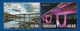 Färöer / Föroyar  2018 , EUROPA CEPT Brücken - Postfrisch / MNH / (**) - 2018
