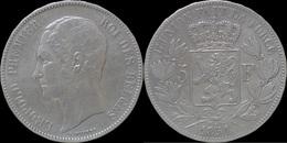 Belgium Leopold I 5 Frank 1851. - 1831-1865: Leopold I