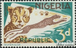 Nigeria 179C II Postfrisch 1965 Fauna - Nigeria (1961-...)