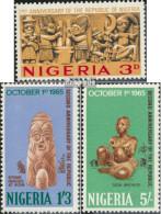Nigeria 172-174 (kompl.Ausg.) Postfrisch 1965 2 Jahre Republik - Nigeria (1961-...)
