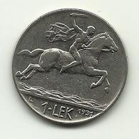 1931 - Albania 1 Lek - Albania