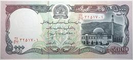 Afghanistan - 5000 Afghanis - 1993 - PICK 62 - NEUF - Afghanistán