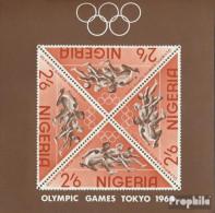 Nigeria Block4 (kompl.Ausg.) Postfrisch 1964 Olympische Sommerspiele - Nigeria (1961-...)