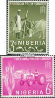 Nigeria 132-133 (kompl.Ausg.) Postfrisch 1963 Kampf Gegen Den Hunger - Nigeria (1961-...)