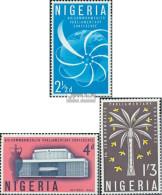 Nigeria 129-131 (kompl.Ausg.) Postfrisch 1962 Commonwealth Parlament Konferenz - Nigeria (1961-...)