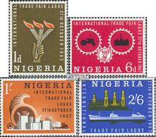 Nigeria 125-128 (kompl.Ausg.) Postfrisch 1962 Internationale Handelsmesse - Nigeria (1961-...)