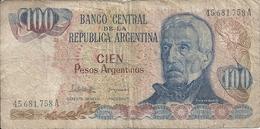 ARGENTINE 100 PESOS ND1983-85 VG+ P 315 - Argentina