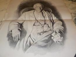 ANCIENNE AFFICHE SA SAINTETE LEON 13 1900 - Fotografia