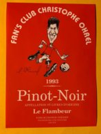 14307 -  Fan's Club Christophe Ohrel Pinot Noir 1993 - Football