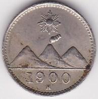 GUATEMALA, 1/4 Real 1900 - Guatemala