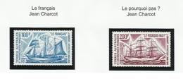 TAAF PA N° 38 Et 39 ** Neuf Sans Charnière 1975 Bateau - Poste Aérienne