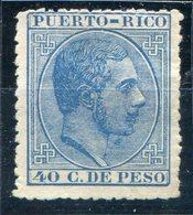 PUERTO RICO   Nº  69  Sin Goma -374 - Puerto Rico