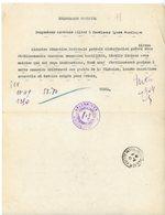 ALLIER TELEGRAMME OFFICIEL 1945 MOULINS / INSPECTION ACADEMIQUE ALLIER à LYCEE MONTLUCON - 1921-1960: Periodo Moderno