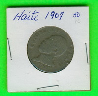MONNAIES, HAITI - 1907 - 50 CENTIMES - - Haiti