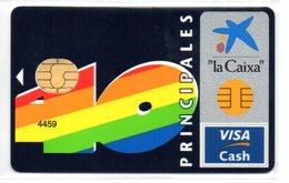 Credit Card Visa Cash Spain 40 PRINCIPALES  Music Radio Channel - Tarjeta De CreditoCash - Geldkarten (Ablauf Min. 10 Jahre)