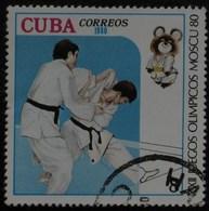 1980 CUBA   Les Arts Martiaux, Judo Martial Arts Judo Kampfsport  Judo  Artes Marciales Judo [ak13] - Judo